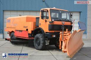 MERCEDES-BENZ SK 2031 4x4x4 Schmidt CJS9 airport sweeper snow plough barredora de aeropuertos