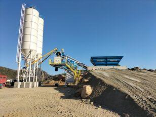 PROMAX Mobile Concrete Batching Plant M60-SNG planta de hormigón nueva