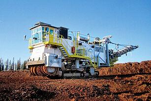 TENOVA TAKRAF MTS 180 excavadora de superficie