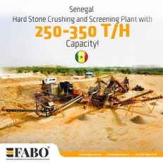 FABO STATIONARY CRUSHING & SCREENING PLANT 250-350 TPH planta trituradora nueva