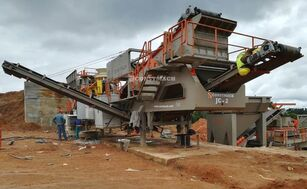 CONSTMACH 120-150 TPH Capacity Mobil Stone Crusher Plant planta trituradora móvil nueva