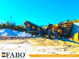 FABO MVSI 900 MOBILE VERTICAL SHAFT IMPACT CRUSHING SCREENING PLANT planta trituradora móvil nueva