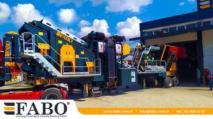 FABO PRO 90 MOBILE CRUSHING&SCREENING PLANT | 90-130 TPH planta trituradora móvil nueva