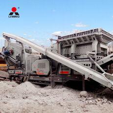 Liming 300tph Combined Mobile Road Building Crushers Machine planta trituradora móvil nueva