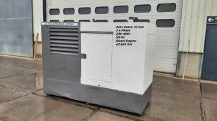 JOHN DEERE LSA 43.2S2 Silent 3 x Phase 43kva generador de diésel