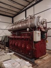 MBU MTU MBH 6 VDG 48 / 42 AL  500 OBR / MIN SILNIK DO STATKU SILNIK  generador de diésel