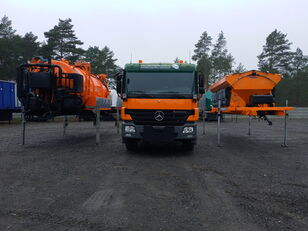 MERCEDES-BENZ ACTROS 2636 6x4 WUKO + MUT SAND MACHINE FOR CHANNEL CLEANING máquina comunitaria universal
