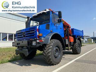 MERCEDES-BENZ Unimog U 5000 437/45 Forst, miete möglich máquina comunitaria universal